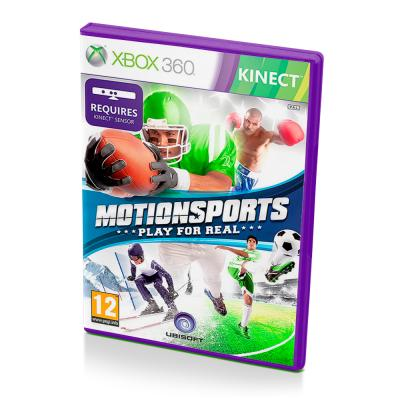 Motionsports Play for Real (Xbox 360, б/у, множ.царап, устан. 100%)